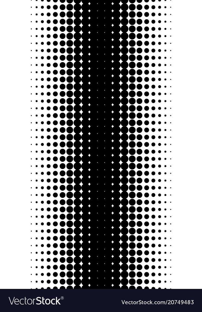 Pattern of halftone dots