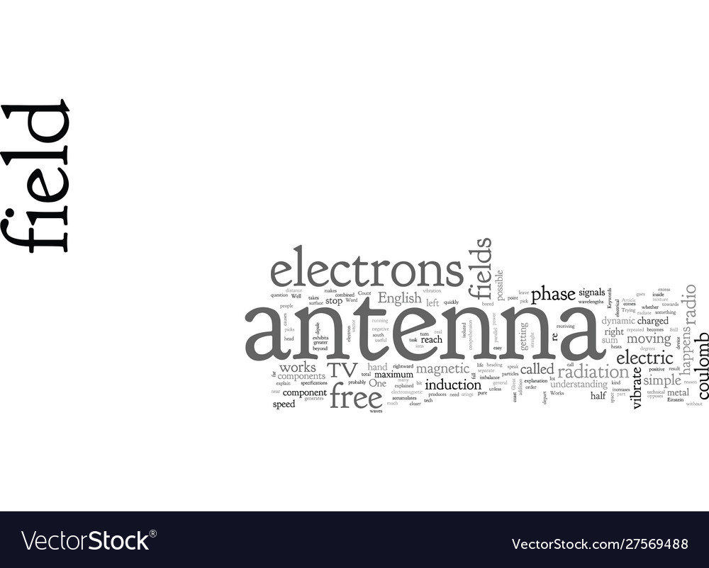 Antenna how one works
