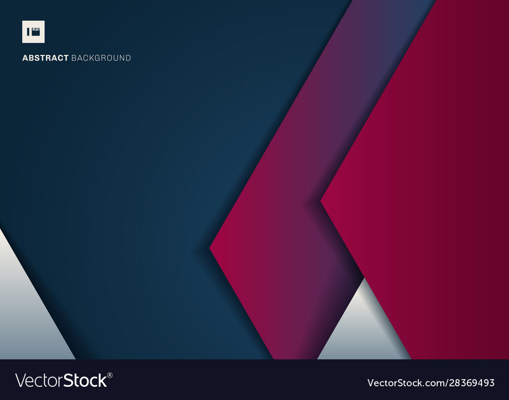 Abstract template geometric triangle white and