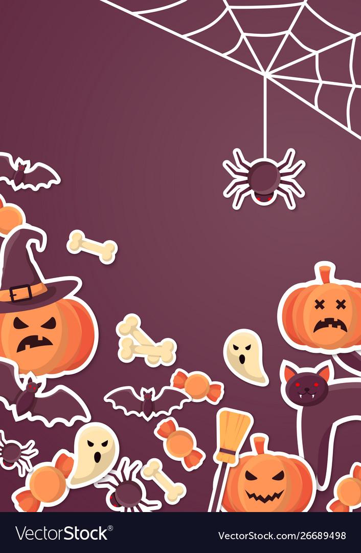 Halloween Flyer Template Free from cdn4.vectorstock.com
