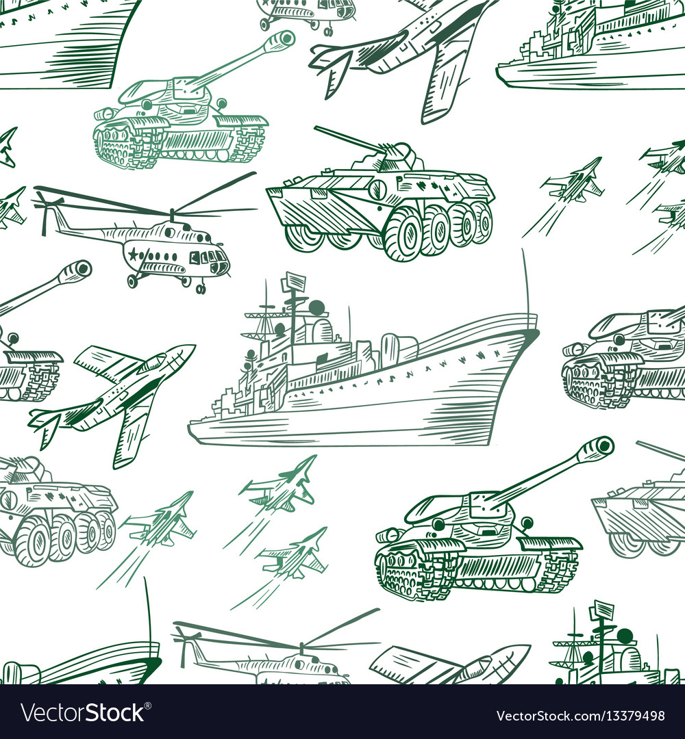 Military transport pattern