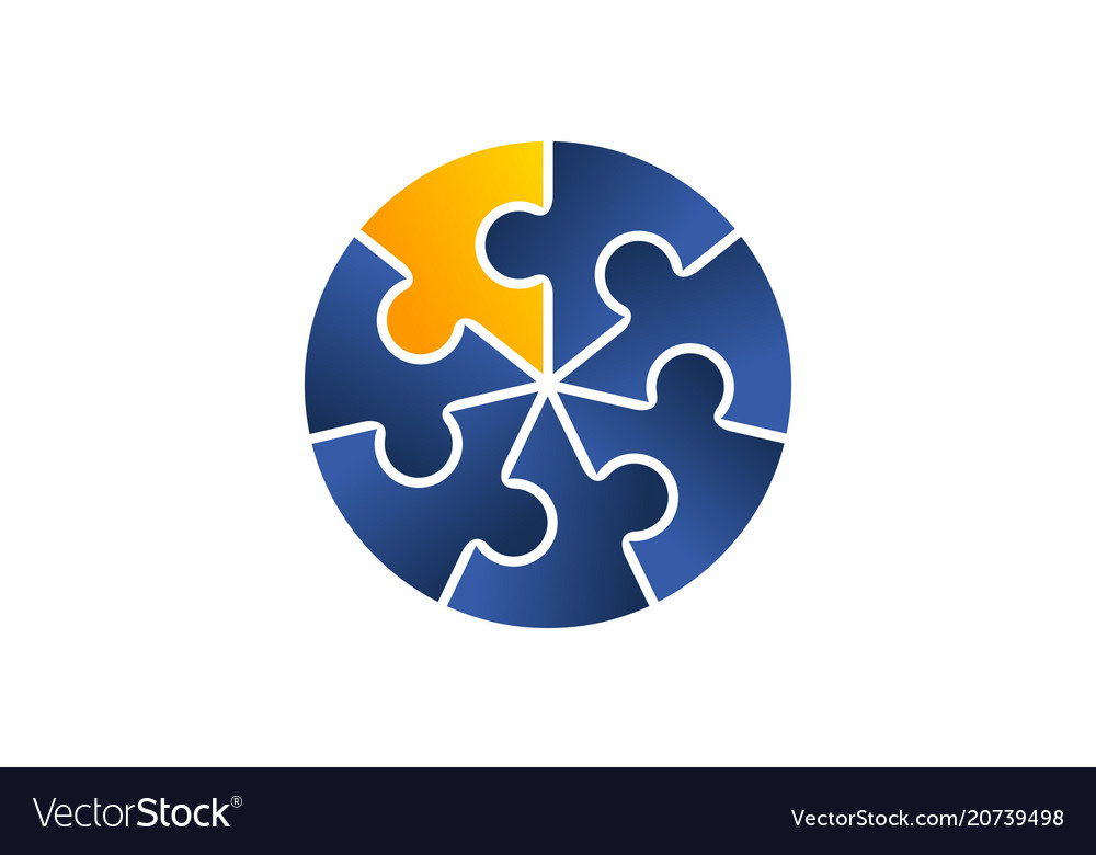 Teamwork logo design template