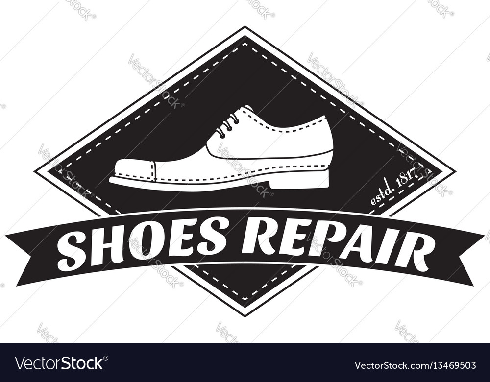 Image of logo of shoe repair services
