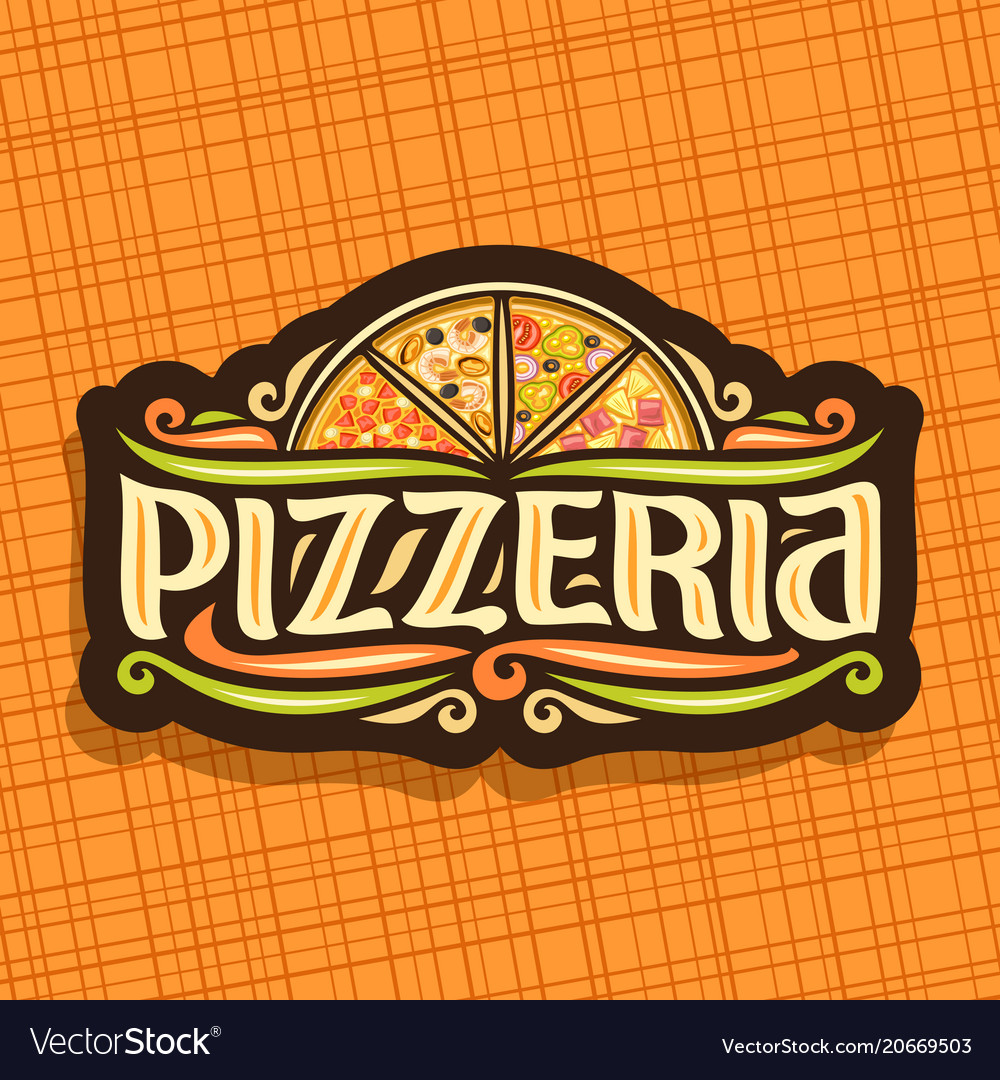 Logo for italian pizzeria