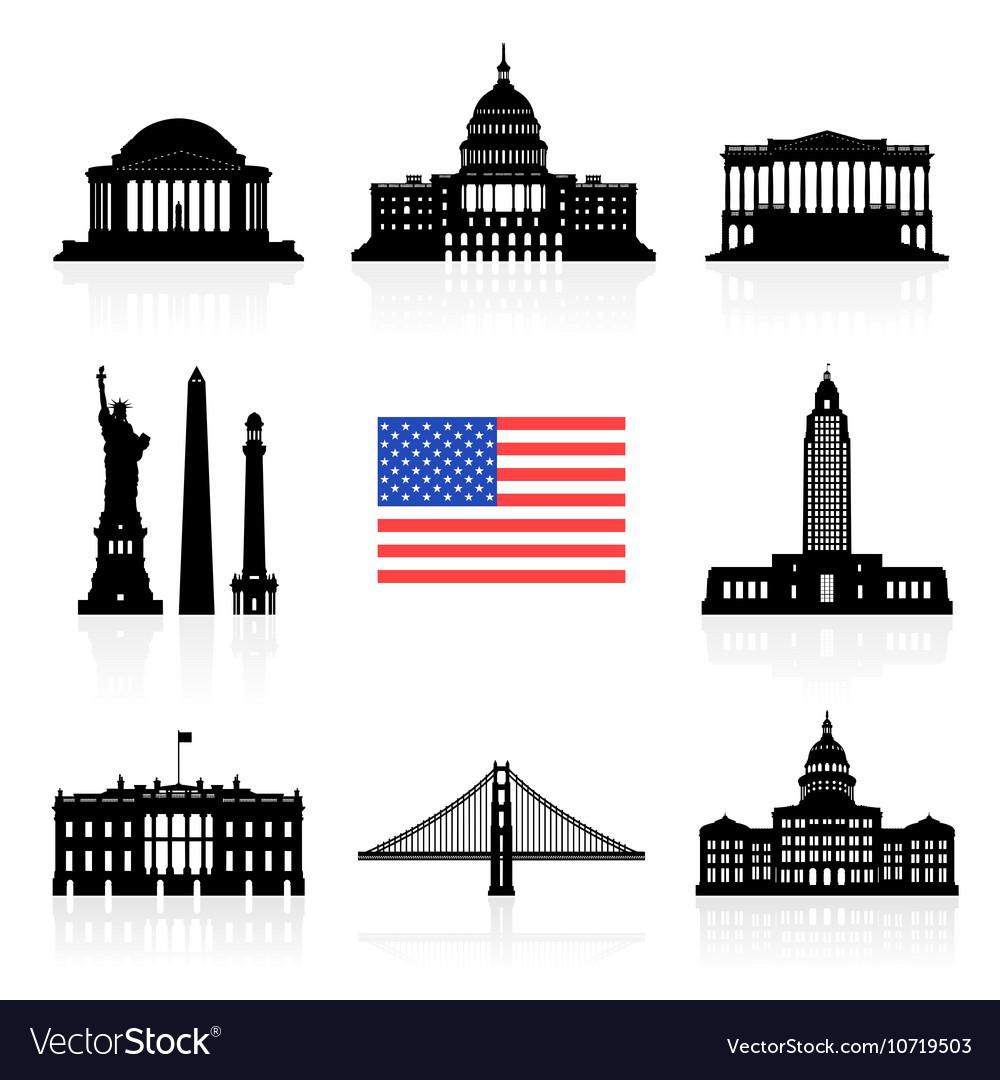 USA Travel Icon