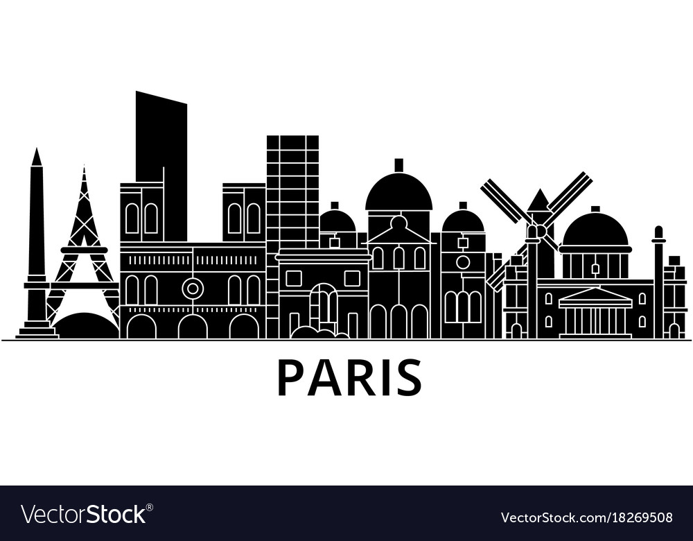 Paris architecture city skyline travel