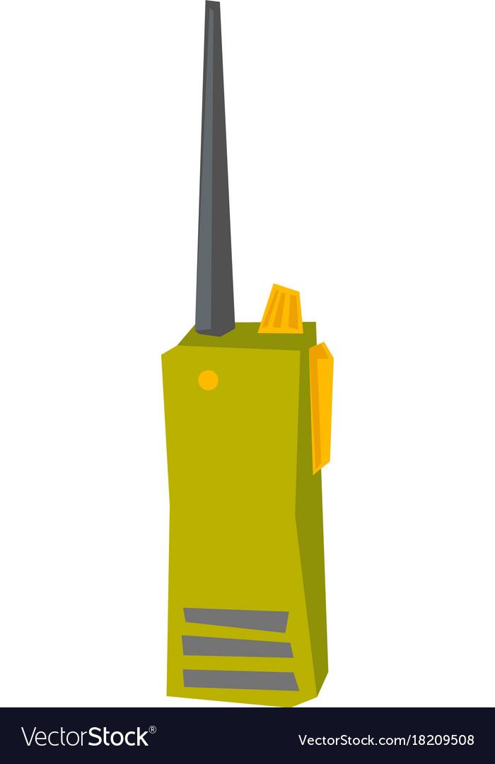 Radio transmitter cartoon