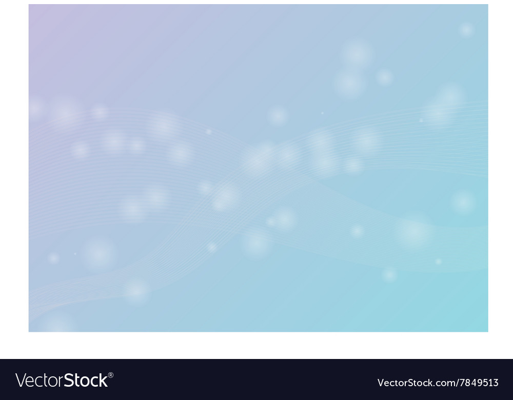 Abstract background with wave and shine