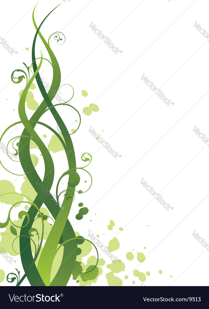 Grunge spring vector image