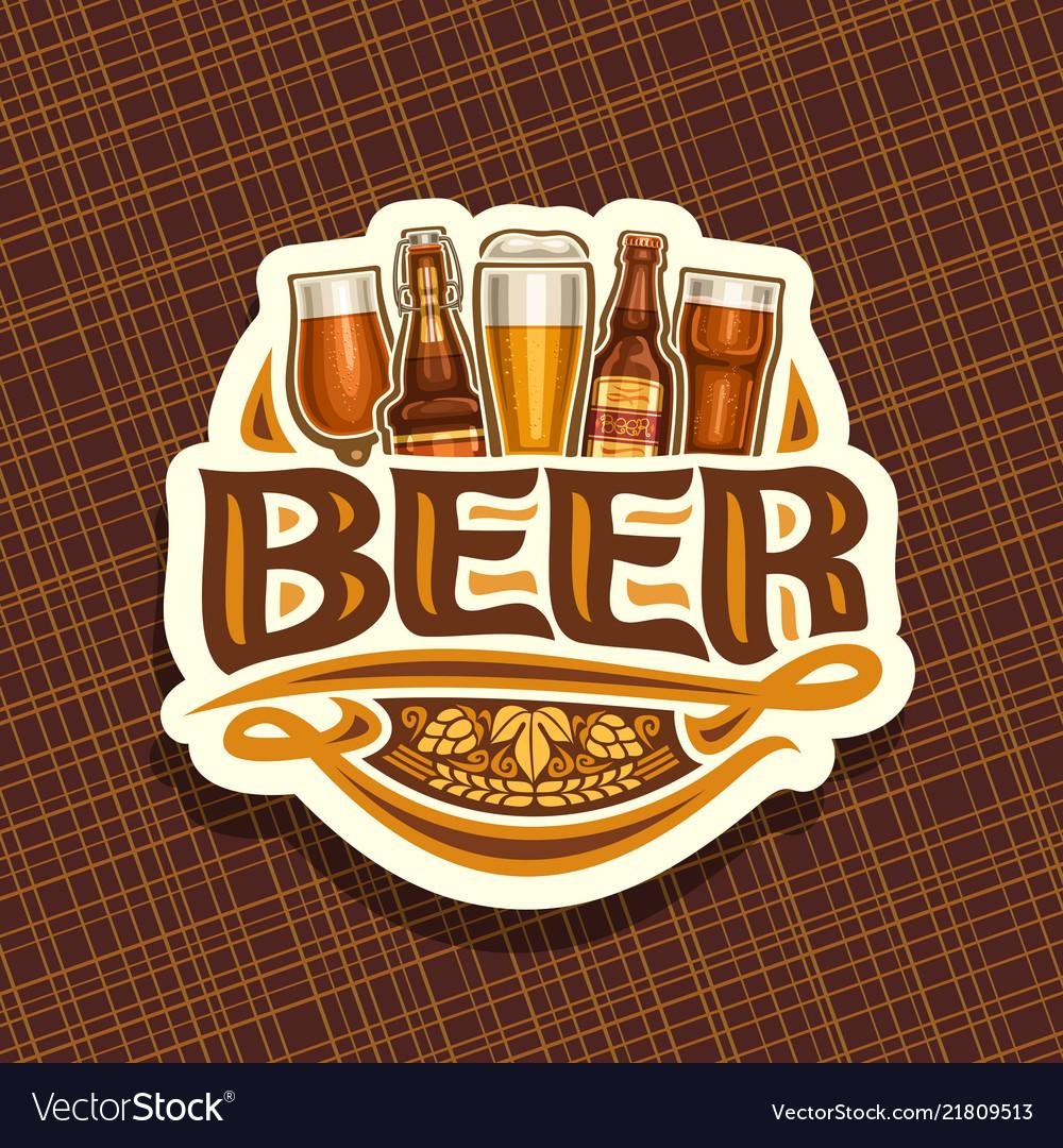 Logo for beer