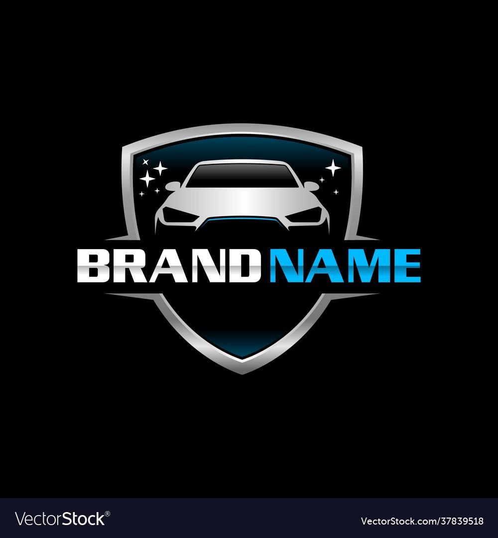 Auto clean logo template