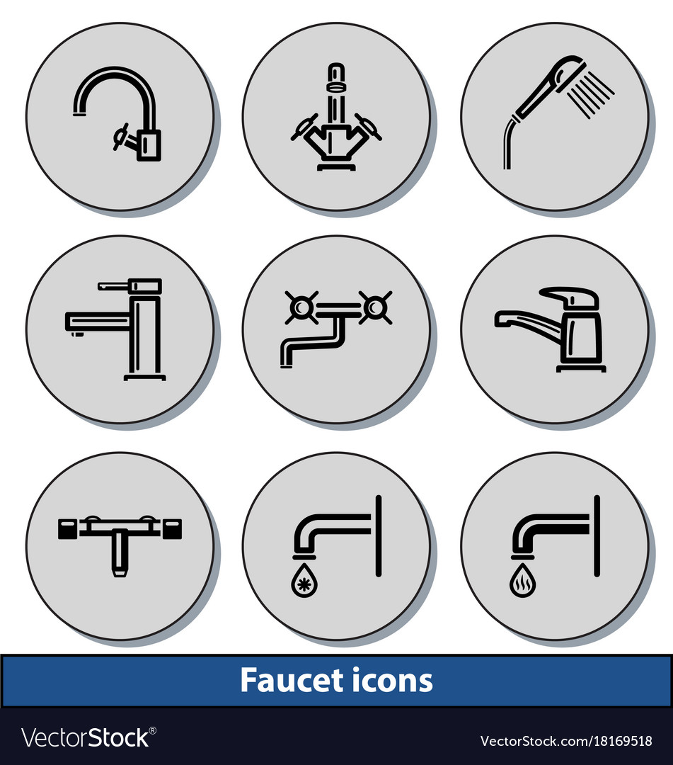 Light faucet icons