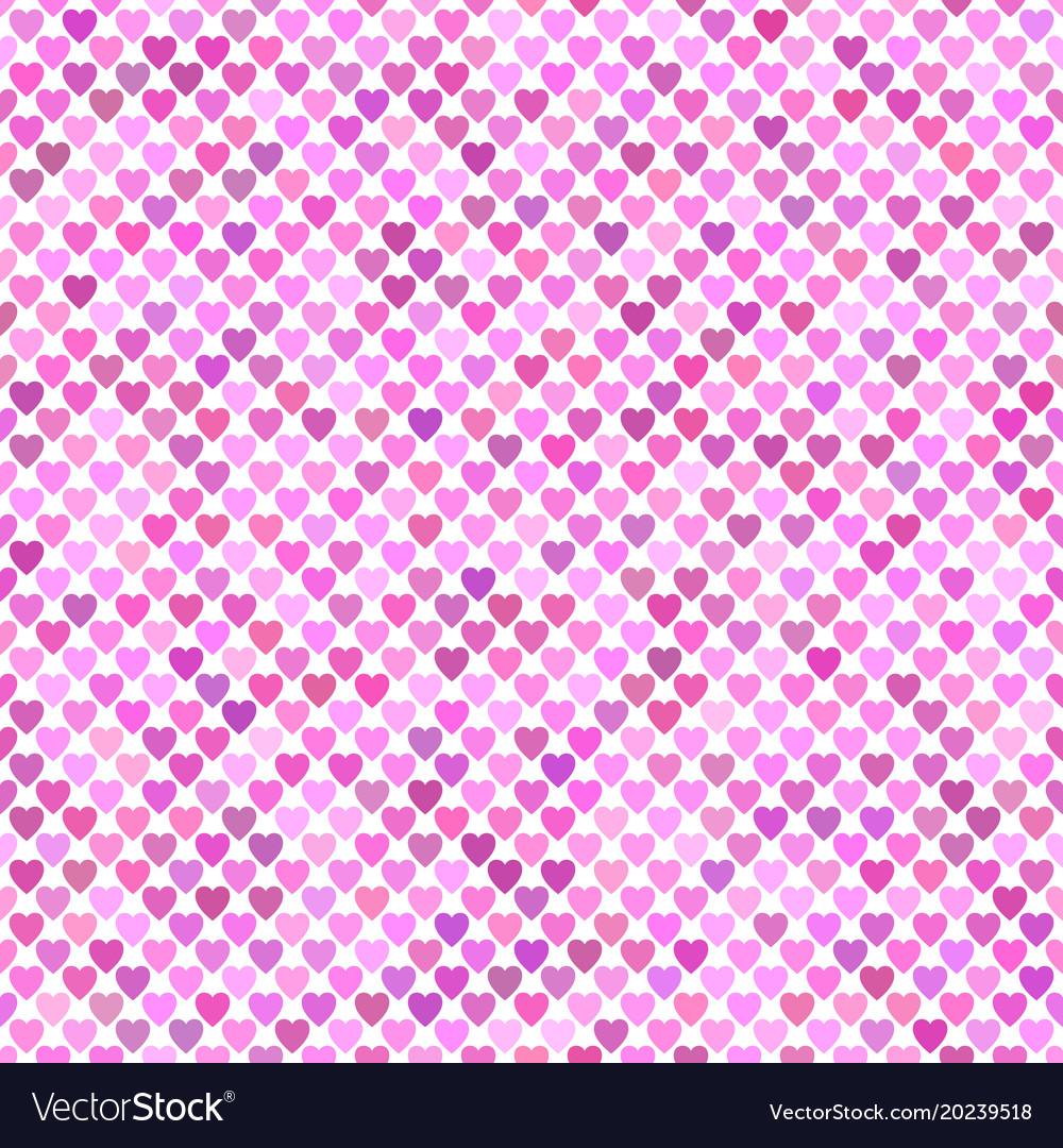 Seamless pink heart background pattern