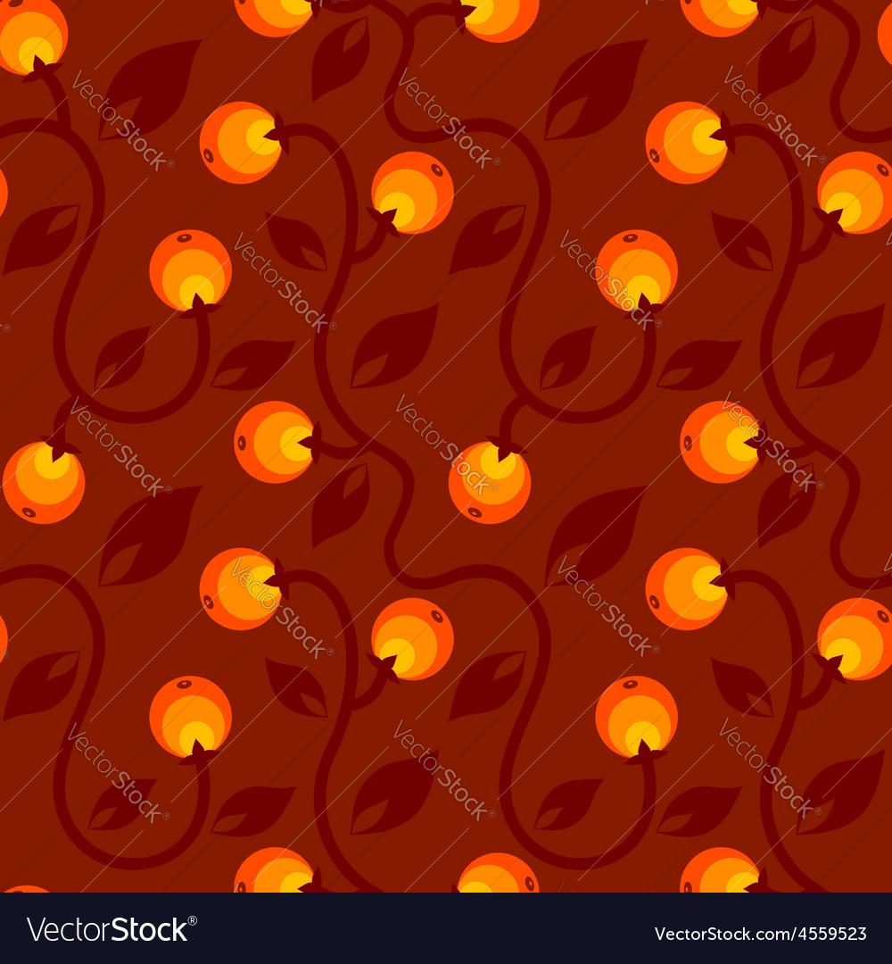 Apple pattern red