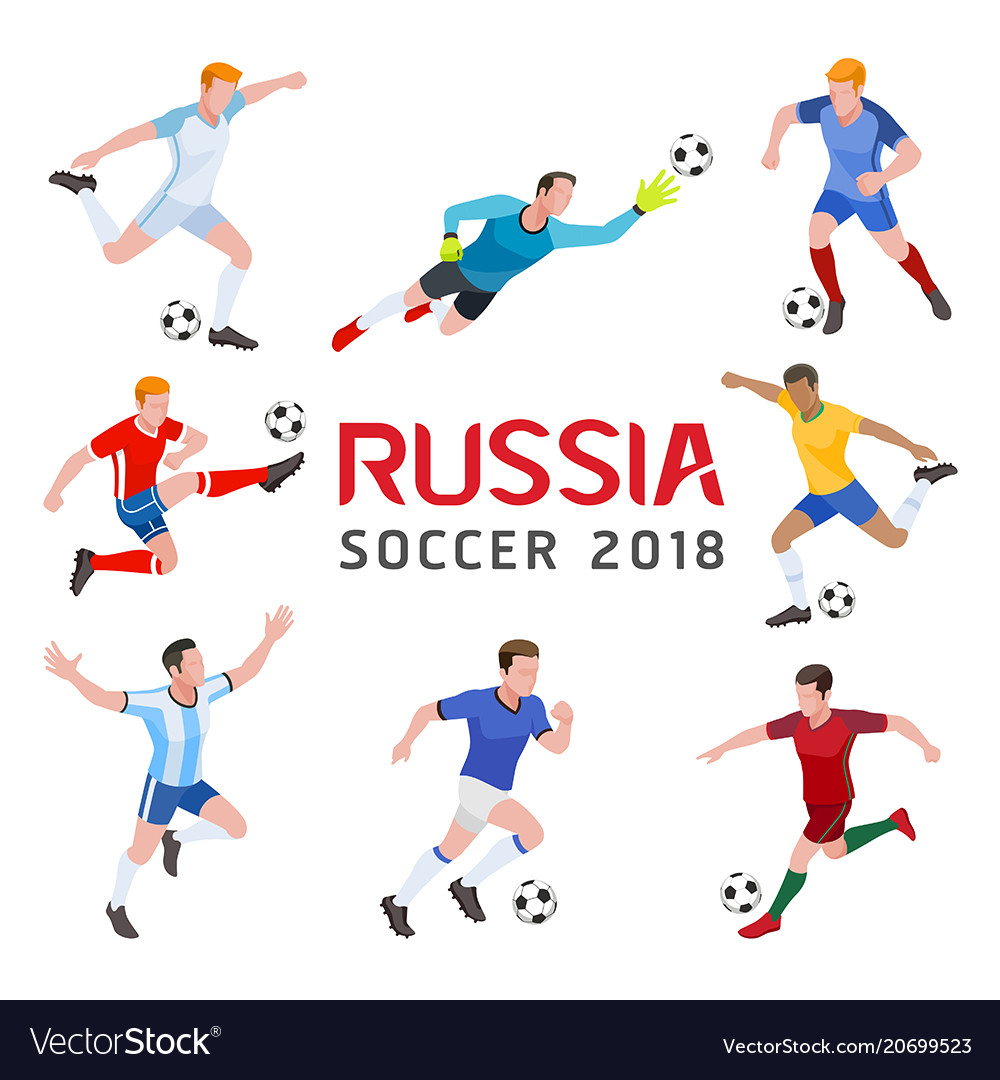 Soccer football 2018 russia group of soccer