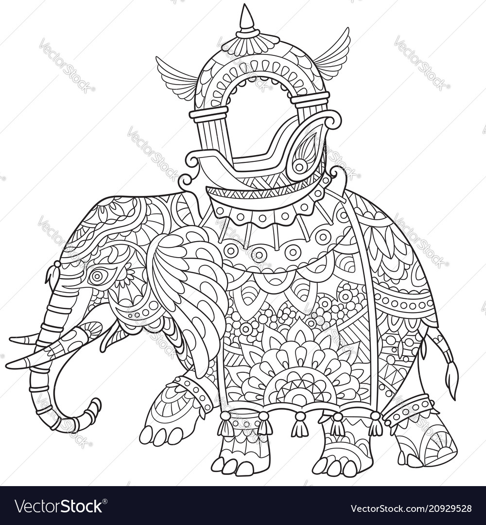 African or indian elephant