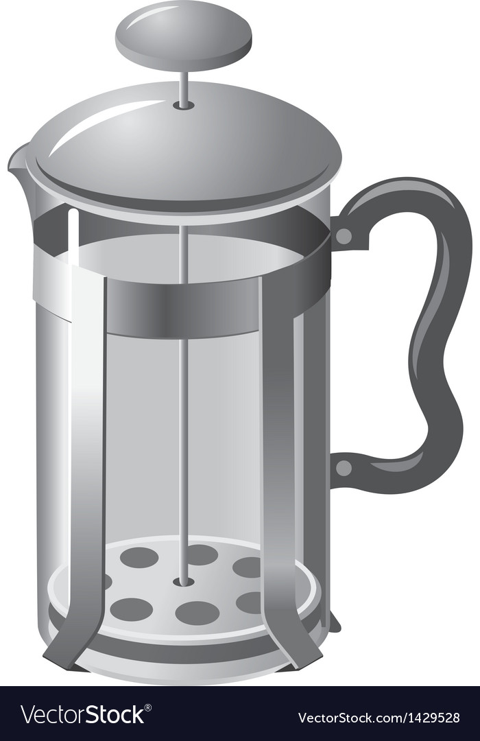 French press teapot