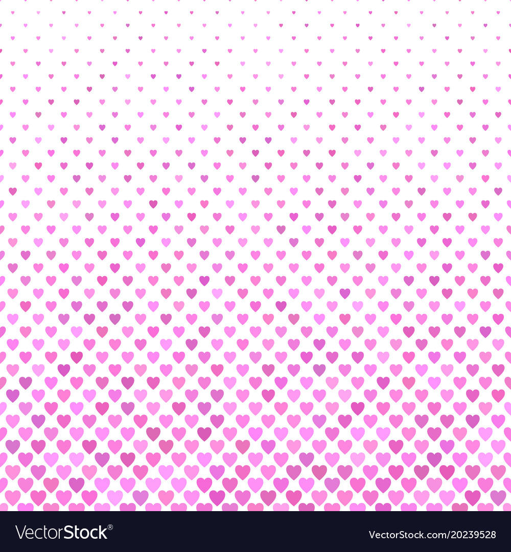 Pink heart pattern background - valentines day