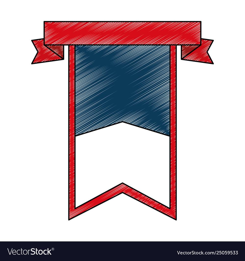 United states america emblematic shield