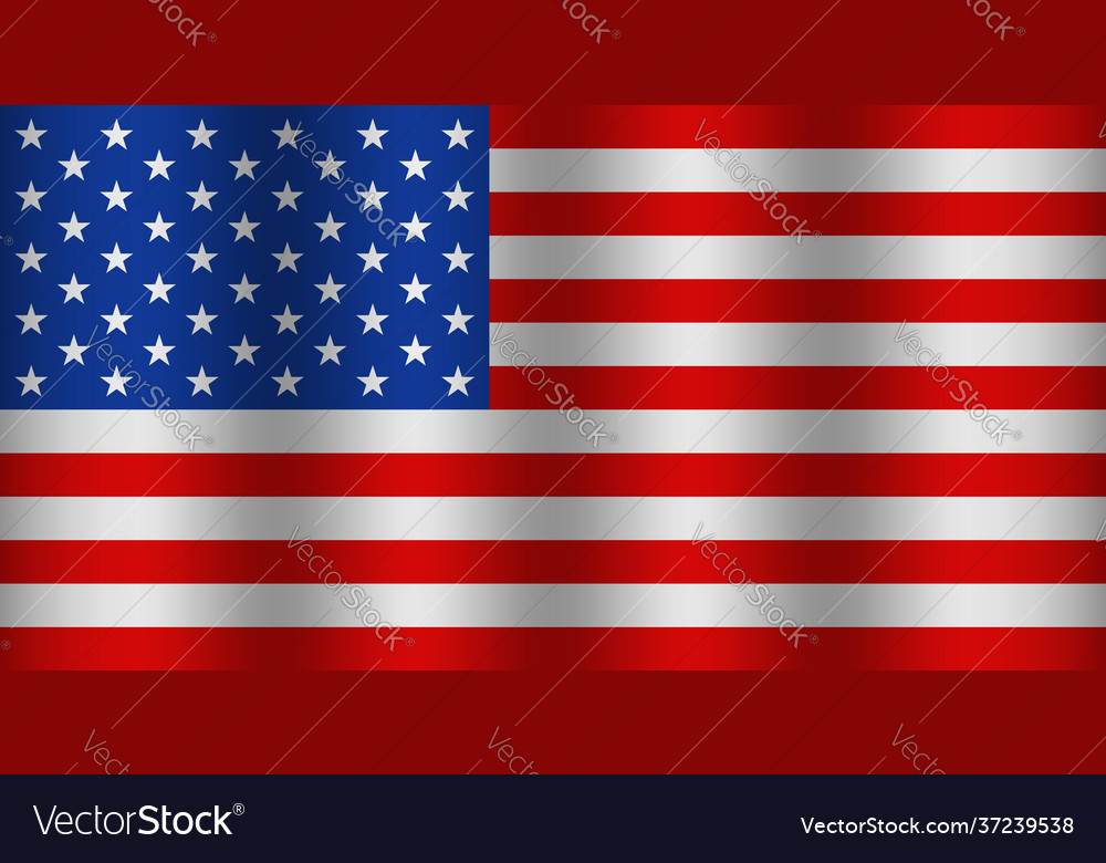 American flag with wave usa waving background