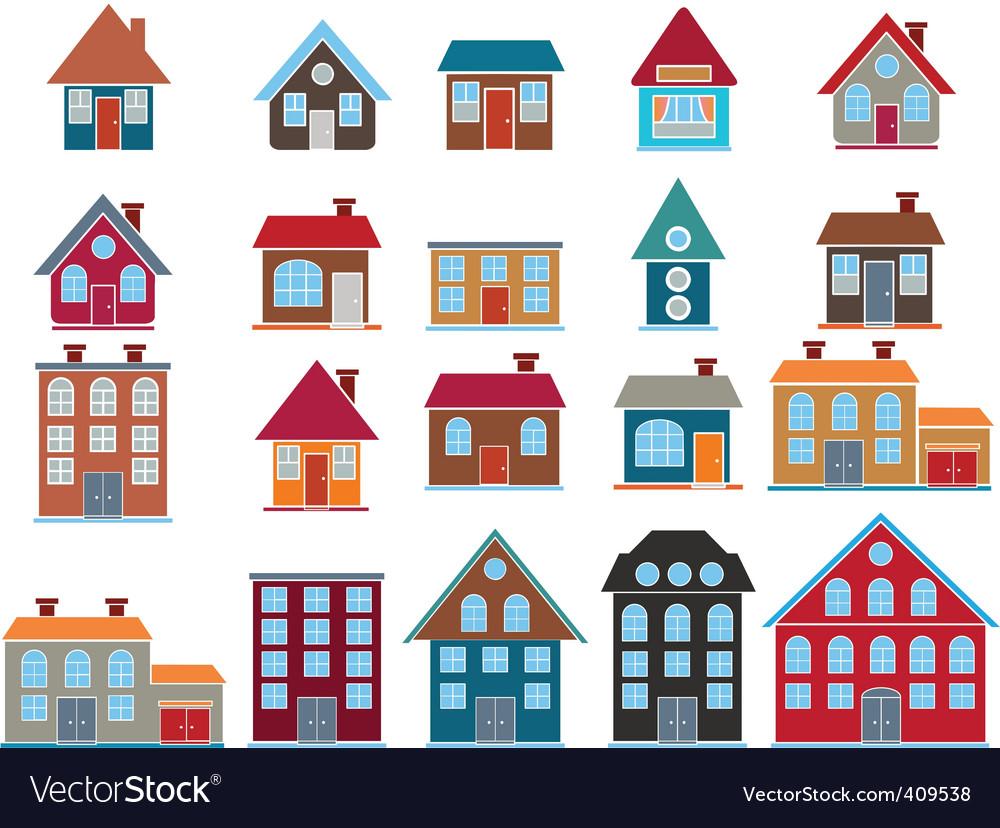 Buildings vector Royalty Free Vector Image - VectorStock