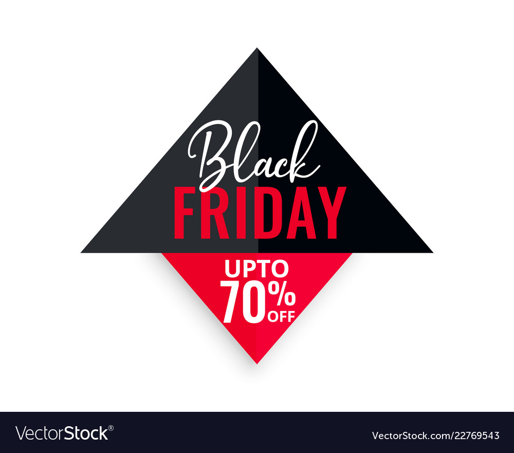 Black friday sale geometric background