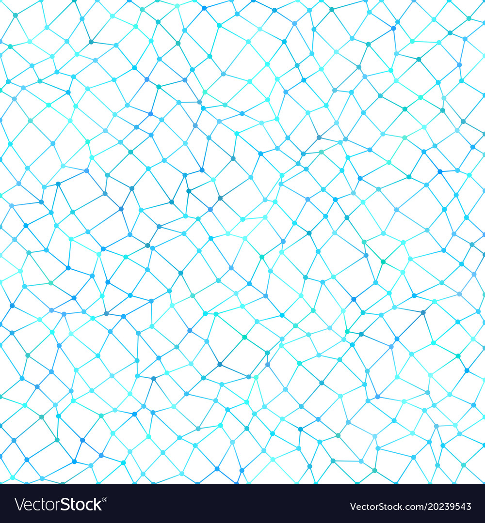 Color abstract irregular polygon mesh pattern