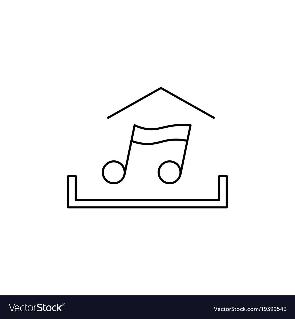 Music upload icon
