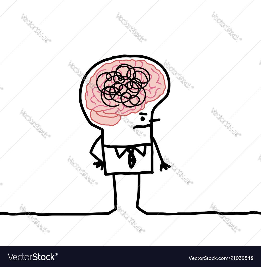 Big brain man confusion royalty free vector image big brain man confusion vector image thecheapjerseys Gallery