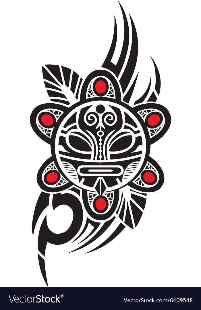 Taino sun tribal