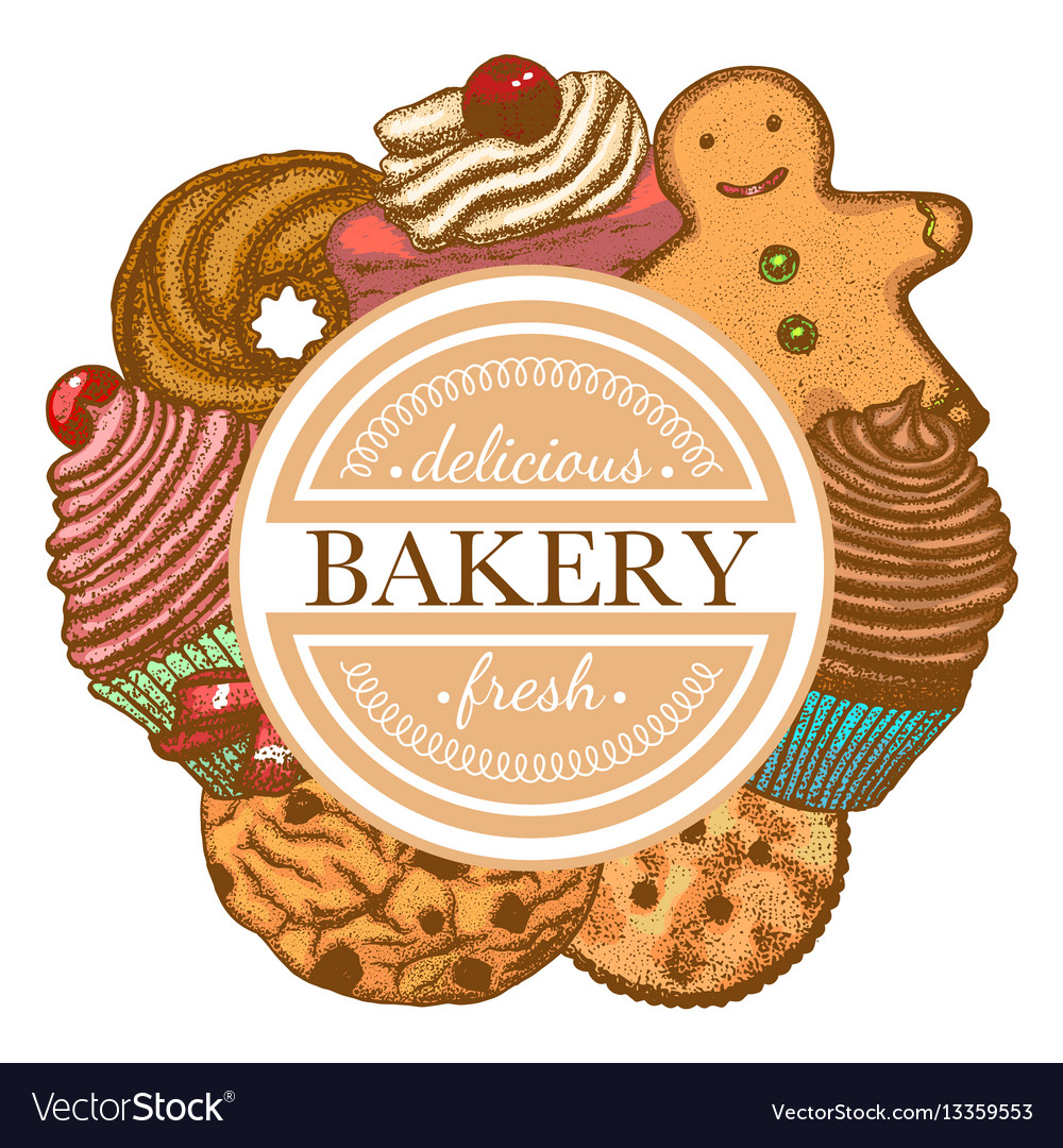 Composition with different types of bakery