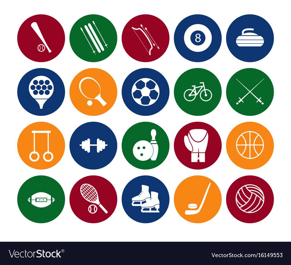 sport icon signs symbols vector vectors