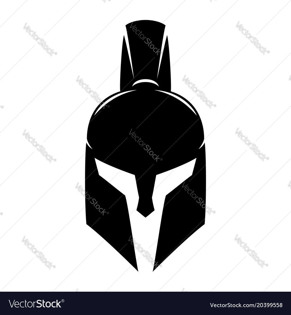 Spartan helmet sign