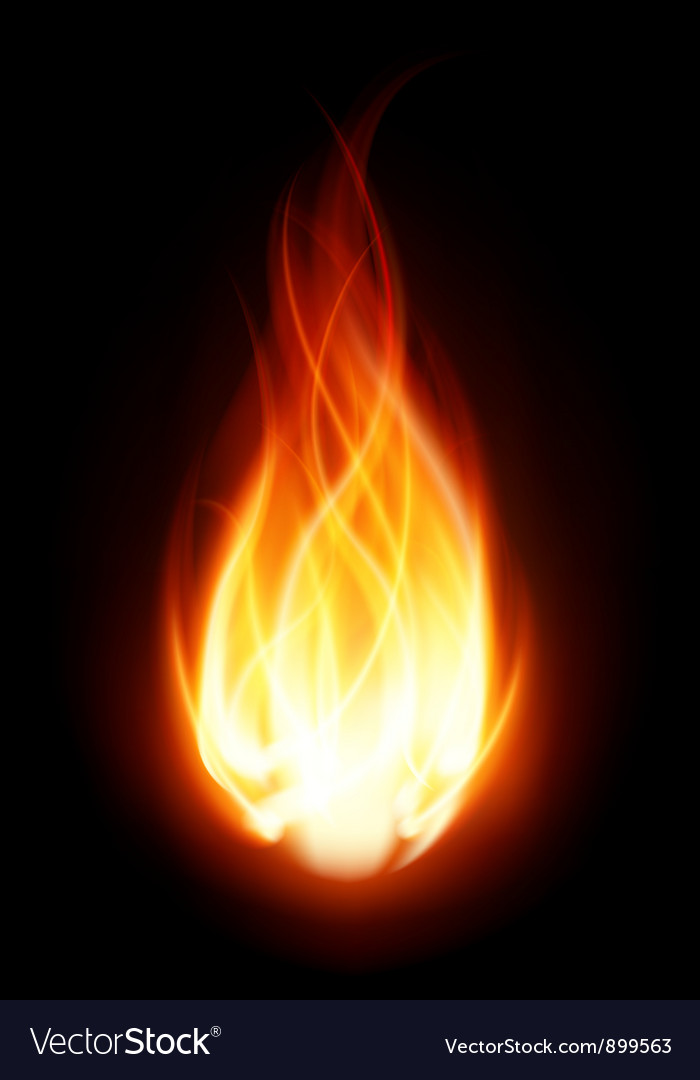 Burning flame fire background royalty free vector image burning flame fire background vector image voltagebd Images