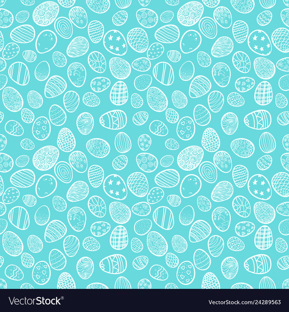 Seamless background for happy easter decorative