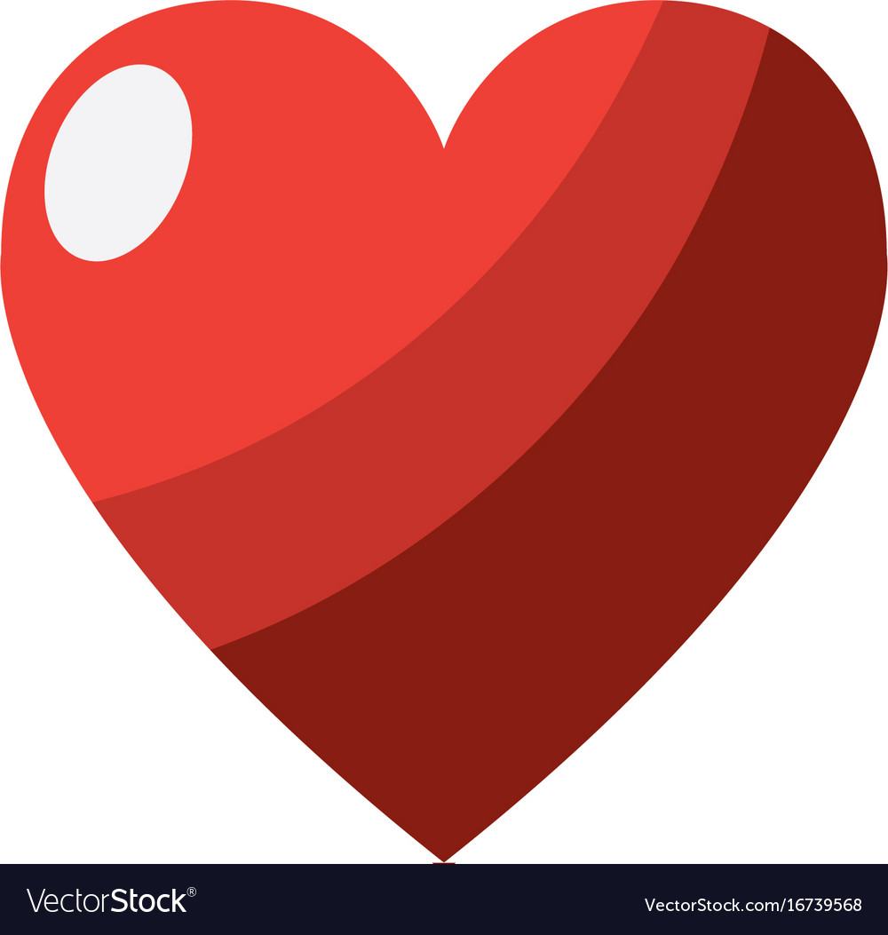 Heart Love And Life Symbol Design Royalty Free Vector Image