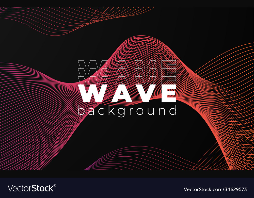 Creative design poster abstract gradient template