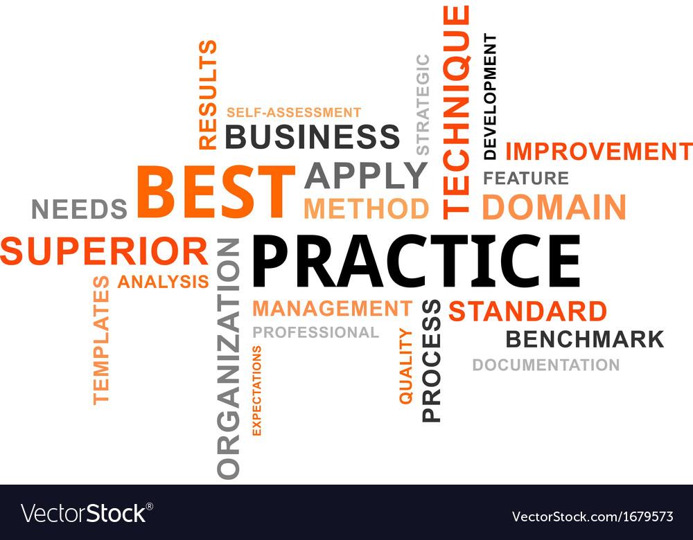 Word cloud best practice