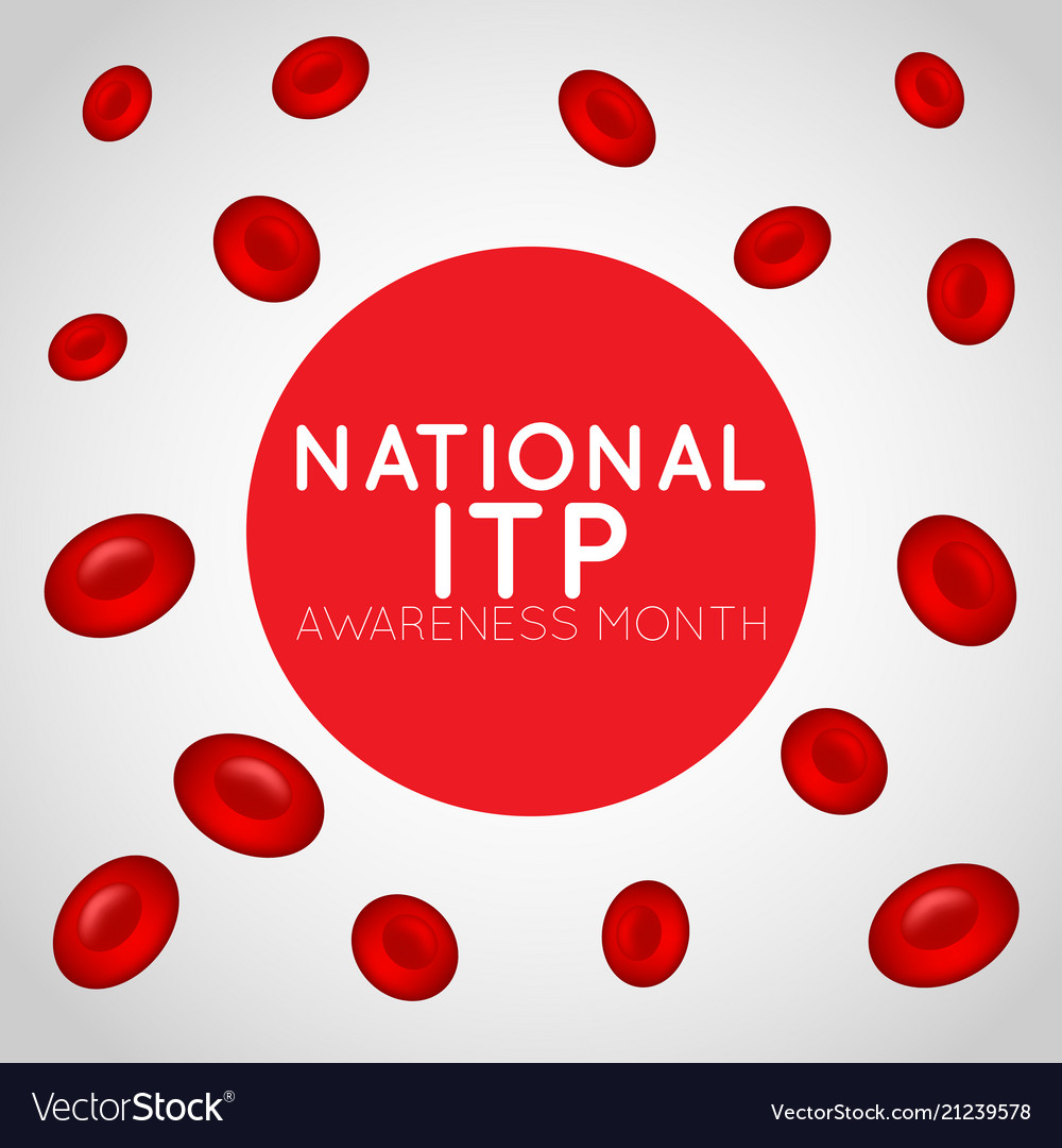 National itp awareness month logo icon