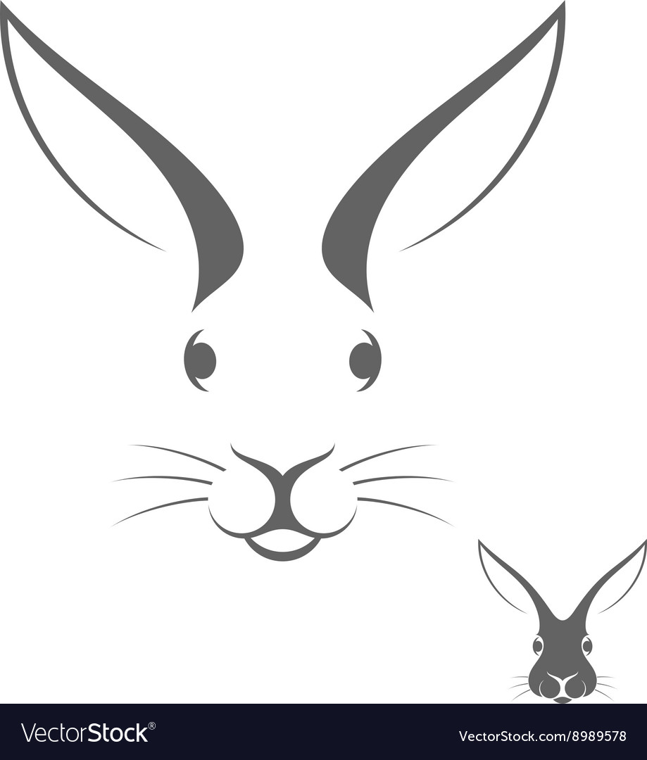 Rabbit head Logo