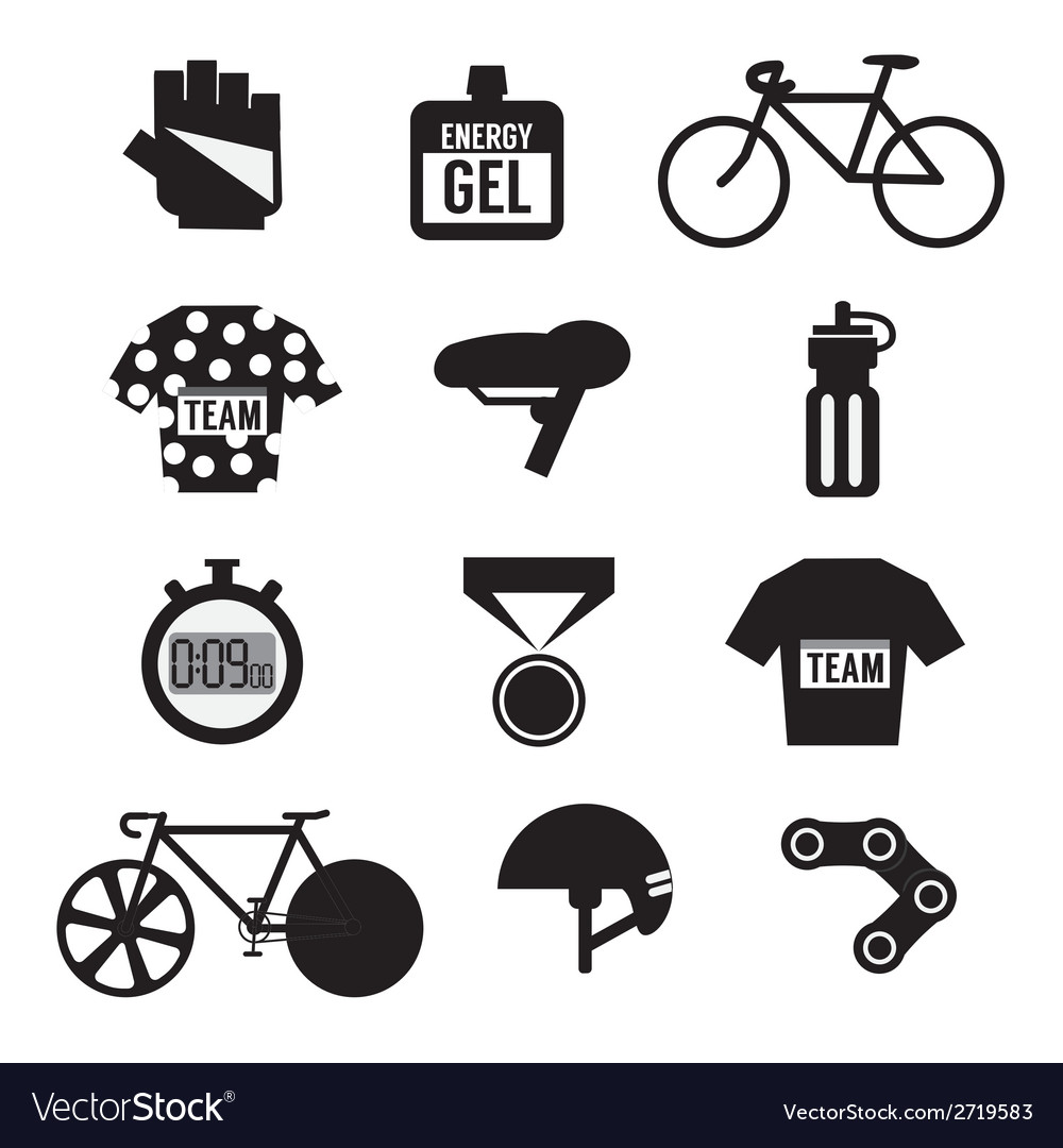 Set of Bicycle and Accessories