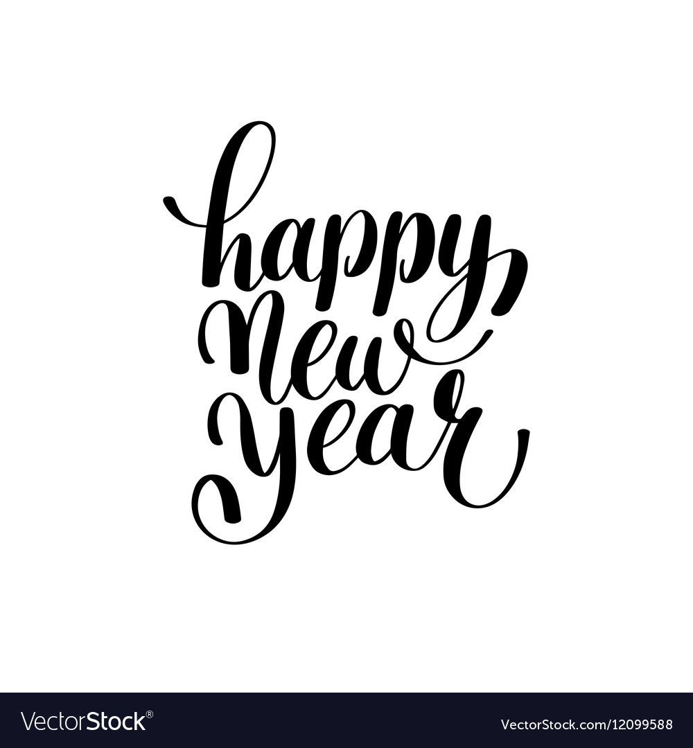 Happy New Year Font 54