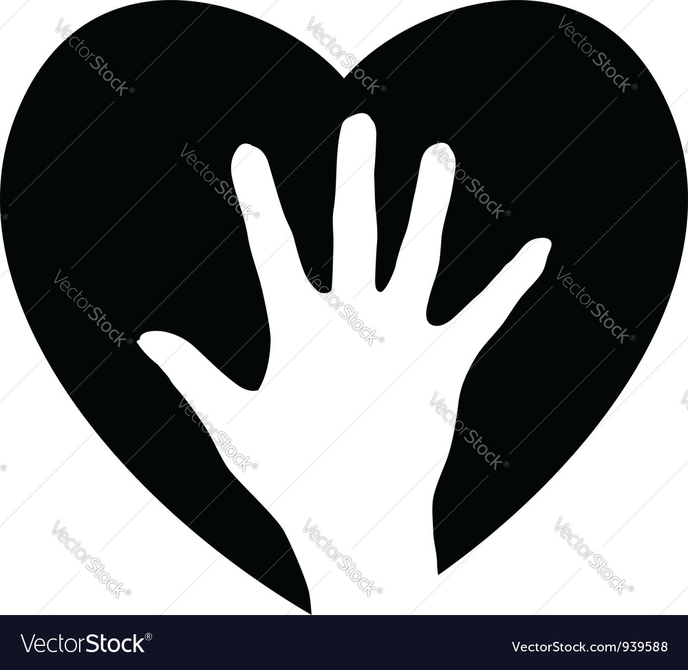 Helping Hand in the heart