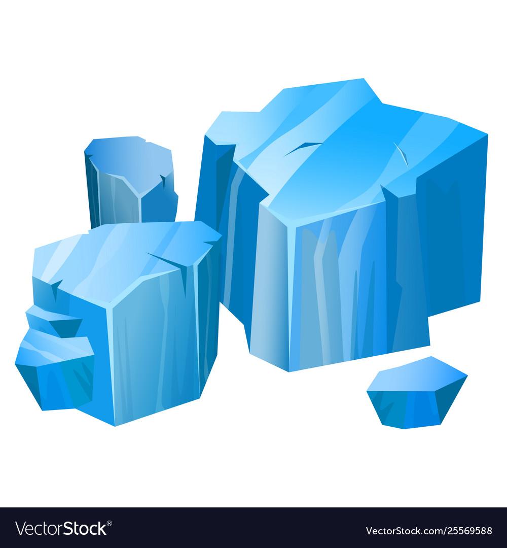 Iceberg blue north symbol ecology and climate