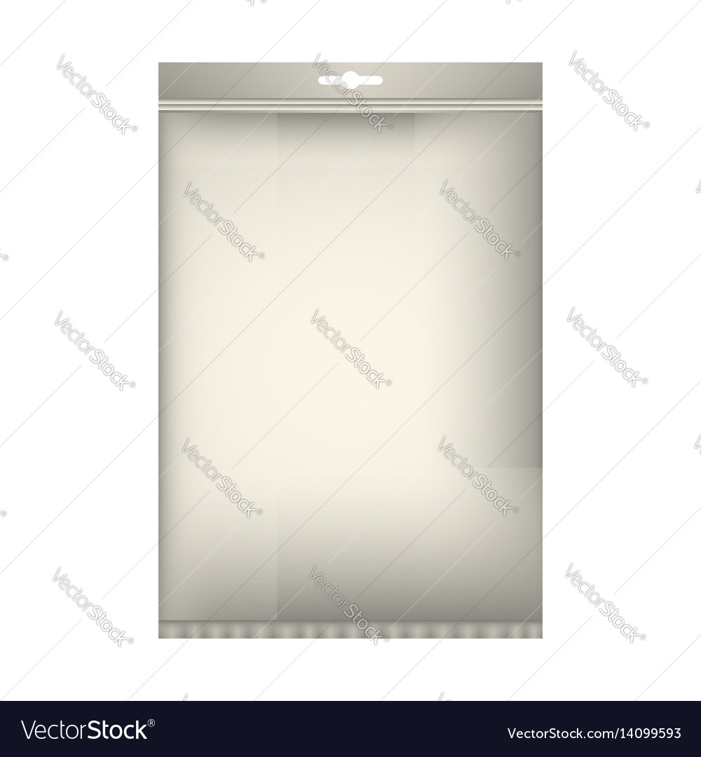 Package mock up vector image
