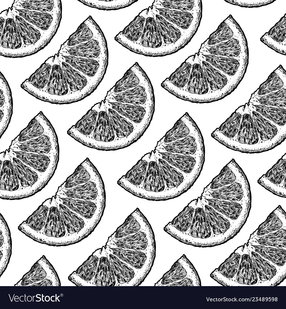 Pattern with citrus