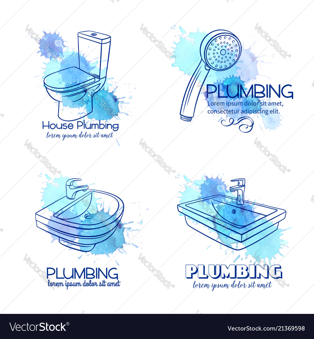 Plumbing service banners