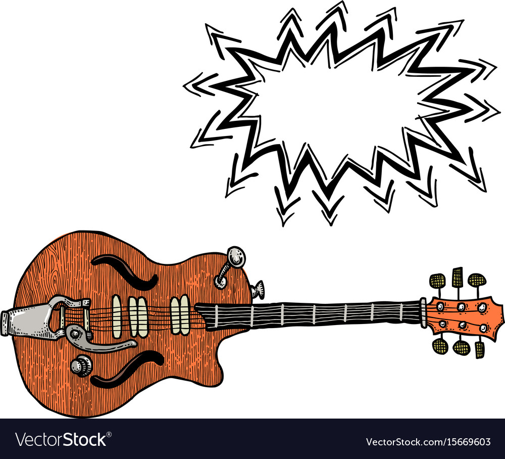 Electric guitar-100