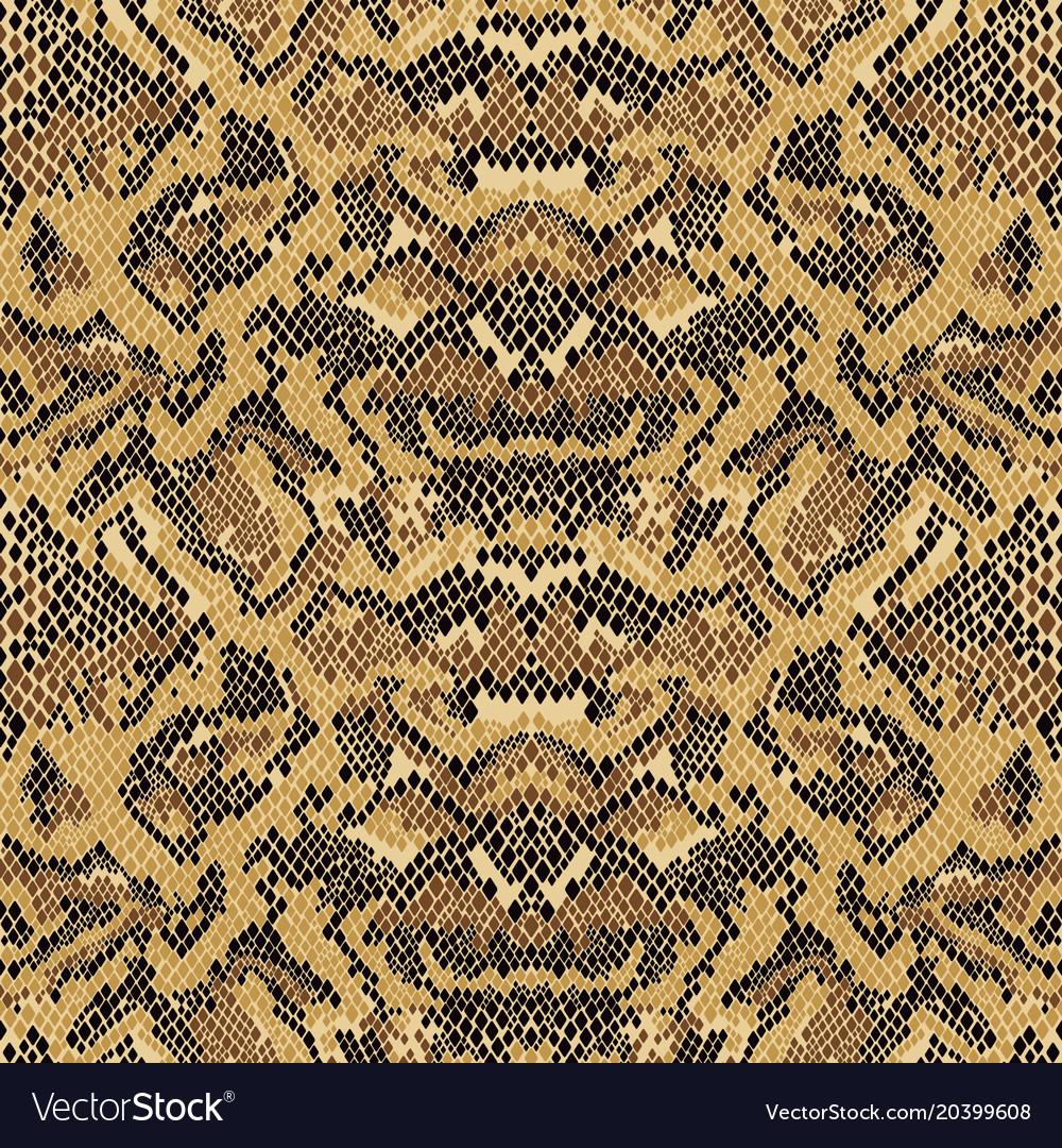 Abstract Python Snake Skin Wallpaper