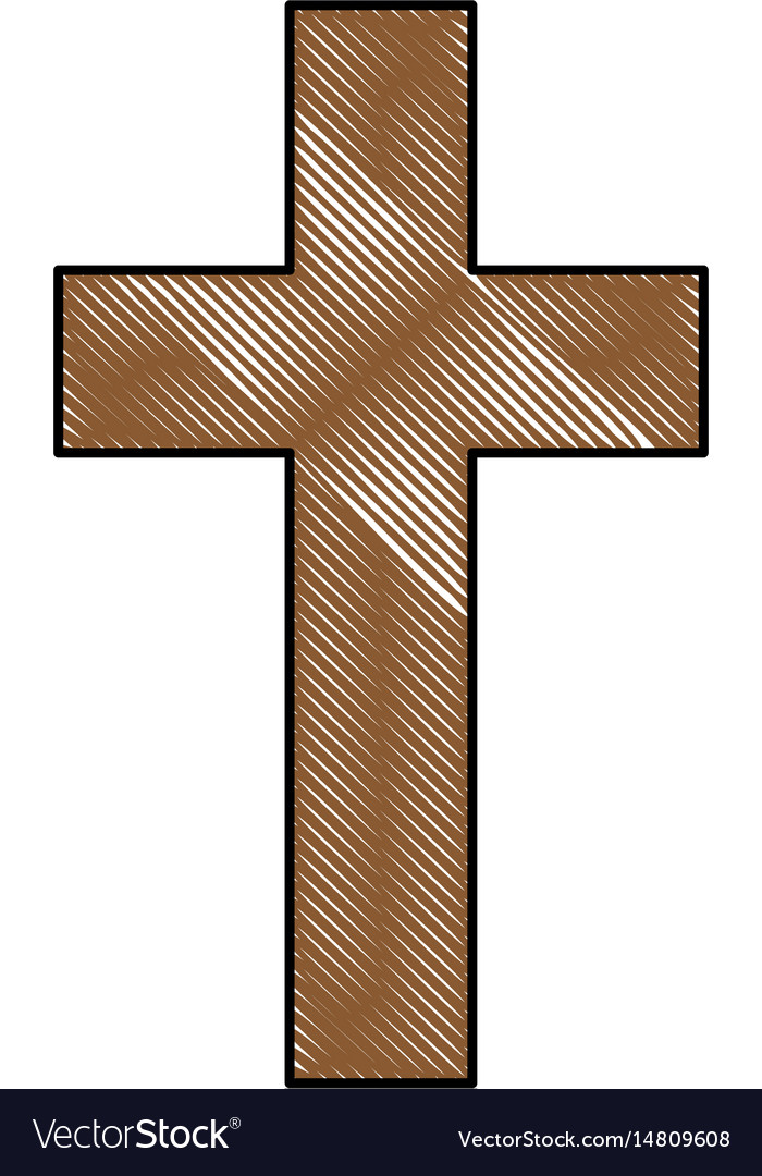 Christian Cross Symbol Royalty Free Vector Image